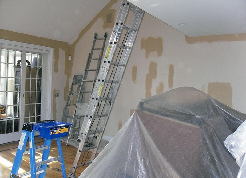 Interior Paint Job Horhota Multi Level Prestigecoatings