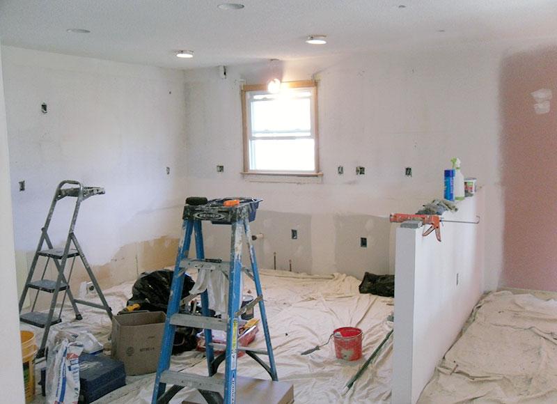 Interior Paint Job Ron S Kitchen Prestigecoatings