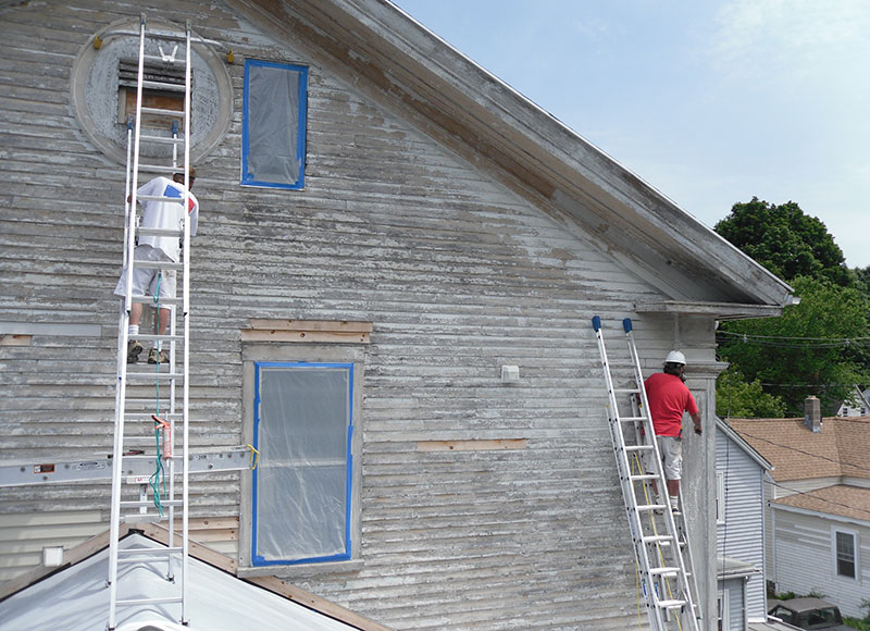 Lead paint prestige coatings we are certified we follow epa guidelines - Exterior paint jobs model ...